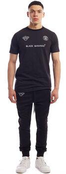 Black Bananas F.C. Basic t-shirt Heren Zwart