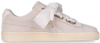 Puma Suede Heart Satin sneakers Dames Wit