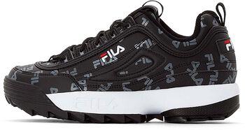 FILA Disruptor Logo sneakers Dames Zwart