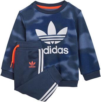 adidas Allover Print Camo Set Jongens Blauw