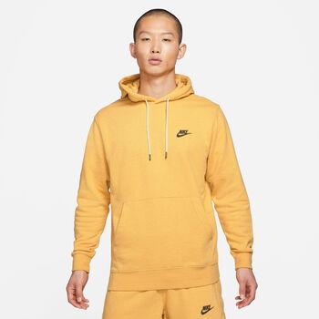 Nike Sportswear hoodie Heren Geel