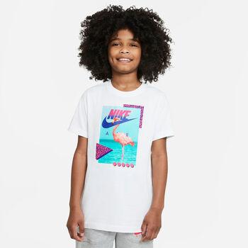 Nike Sportswear kids t-shirt Wit