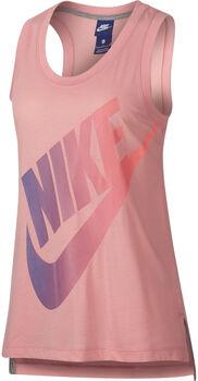 Nike Sportswear top Dames Rood