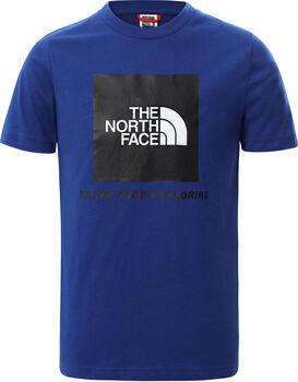 The North Face Box kids t-shirt Jongens Blauw