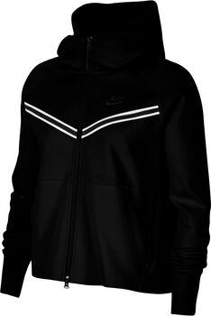 Nike Sportswear Tech Fleece Windrunner hoodie Dames Zwart