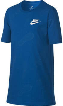 Nike Sportswear shirt Jongens Blauw