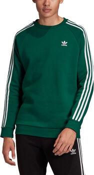 adidas 3-Stripes Crew sweater Heren Groen