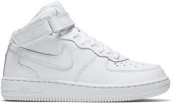 Nike Air Force 1 Mid sneakers Jongens Wit