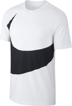 Nike Sportswear Swoosh shirt Heren Ecru