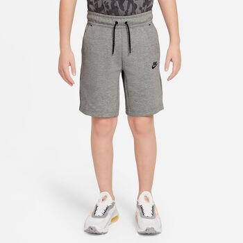 Nike Sportswear Tech Fleece kids short Jongens Grijs