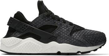Nike Air Huarache Run Premium Dames Zwart