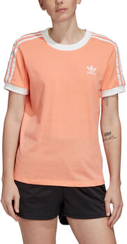adidas 3-Stripes shirt Dames Oranje