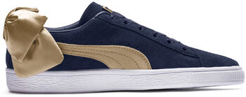 Puma Suede Bow Varsity sneakers Dames Blauw
