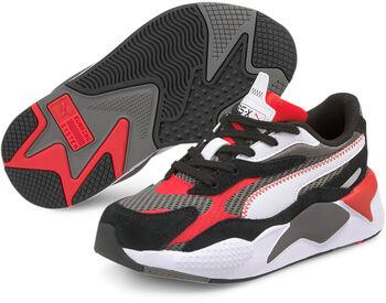 Puma RX-X3 Twill Air Mesh kids sneakers Jongens Grijs