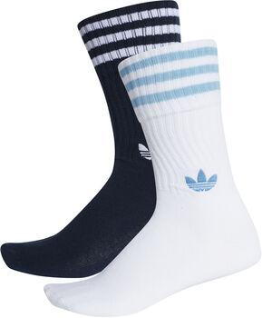 ADIDAS Solid Crew 2pp sokken Heren Blauw