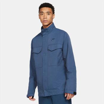 Nike Sportswear M65 jack Blauw