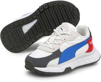 Puma Wild Rider Rollin' AC kids sneakers Jongens Zwart