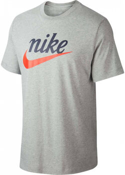 Nike Sportswear  T-Shirt Heren Grijs