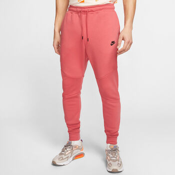 Nike Tech Fleece Jogger broek Heren Rood