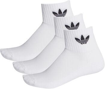 adidas Mid-Cut Sokken 3 Paar Heren Wit