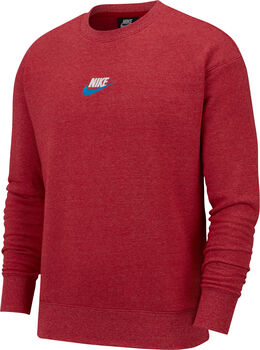 Nike Herenshirt met ronde hals Rood