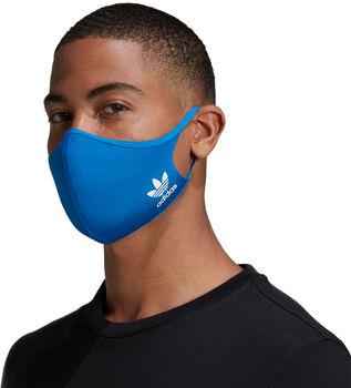 adidas Mondkapje 3-Pack M/L Blauw