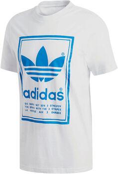 ADIDAS Vintage t-shirt Heren Wit