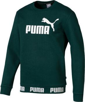 Puma Amplified Crew sweater Heren Groen