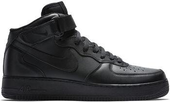 Nike Air force 1 Mid '07 sneakers Heren Zwart