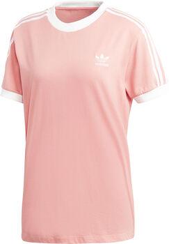 ADIDAS 3-Stripes t-shirt Dames Roze