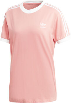 ADIDAS 3-Stripes t-shirt Dames Roze