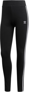 adidas 3-Stripes legging Dames Zwart