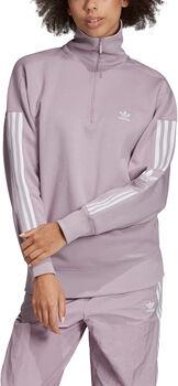 ADIDAS Half-Zip Sweatshirt Dames Paars