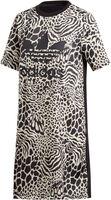 Animal Print T-shirt jurk
