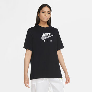 Nike Sportswear Air t-shirt Dames Zwart