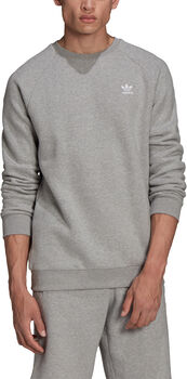 adidas Adicolor Essentials Trefoil sweater Heren Grijs